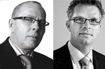 Lambert Blonk en Huub Derksen zijn de ondernemers van het bedrijf Lambert Blonk assurantie. - huubenlambert