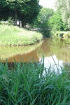 Ommetje langs Maas, Raam en Hertogswetering Vertrek: parkeerterrein Lunette in Grave