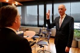 Marcel Fränzel waarnemend burgemeester Sint Anthonis: 'Veel ervaring met herindelingen'
