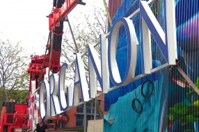 Beroemde Organon-letters pronken na 14 jaar weer in Oss: 'Enorm trots'