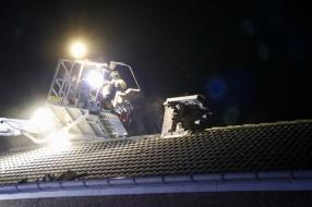 Branden door blikseminslagen in huizen in Boxmeer, Lithoijen en Cuijk