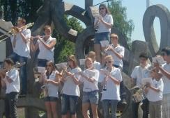 Foto's van de Joekels Junioren Band