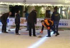 Foto's van ijsfestijn Boxmeer