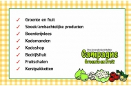 Campagne groente en fruit