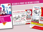 Beurs flyers voor Kocken tweewielers Boxmeer
