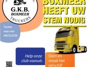 Truckrun Boxmeer vraagt uw stem voor de Rabobank Clubkas Campagne