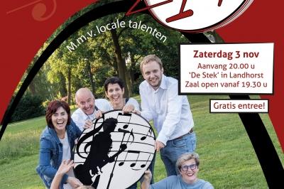 Evenement: Najaarsconcert - Op de STIP bij popkoor ZIP