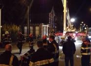 Brandweeroefening in Boxmeer