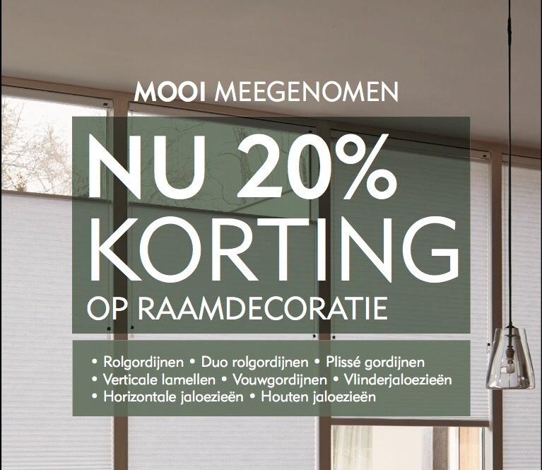 RAAMDECORATIE 20% KORTING, door Deco Home Bos en Bos ...