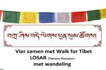 Walk for Tibet viert Losar met seizoenswandeling Cuijk