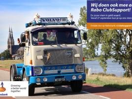 Truckrun Doet mee aan Rabo ClubSupport