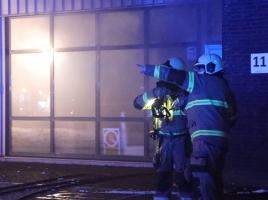 E-Bike Development Center in Cuijk verwoest door brand, vlammen sloegen uit het gebouw