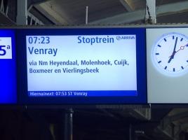 'Iedere dag afwachten of de trein wel rijdt', reizigers in actie tegen storingen op Maaslijntje