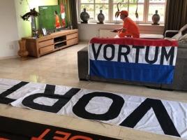 Oranje-eindbaas Arold 'Vortum' Arts: 'De tekst valt extra op. Bijna niemand kent het dorp'