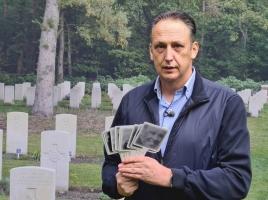 Oscar geeft de gesneuvelden op oorlogsbegraafplaats Overloon een gezicht